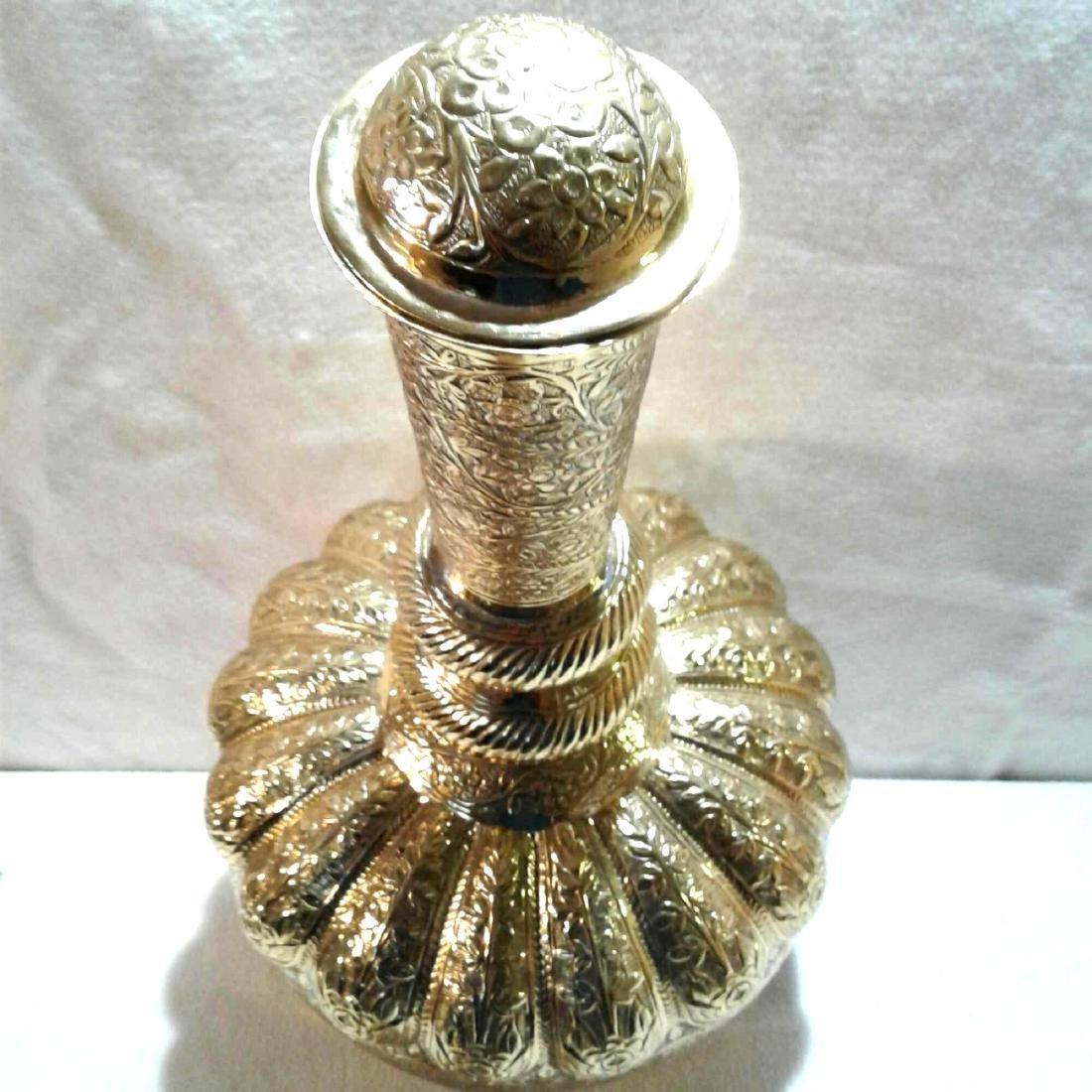 Vintage Large Brass Urn - 7