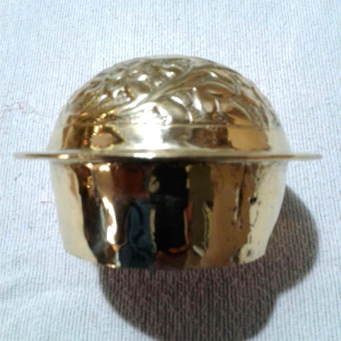 Vintage Large Brass Urn - 8