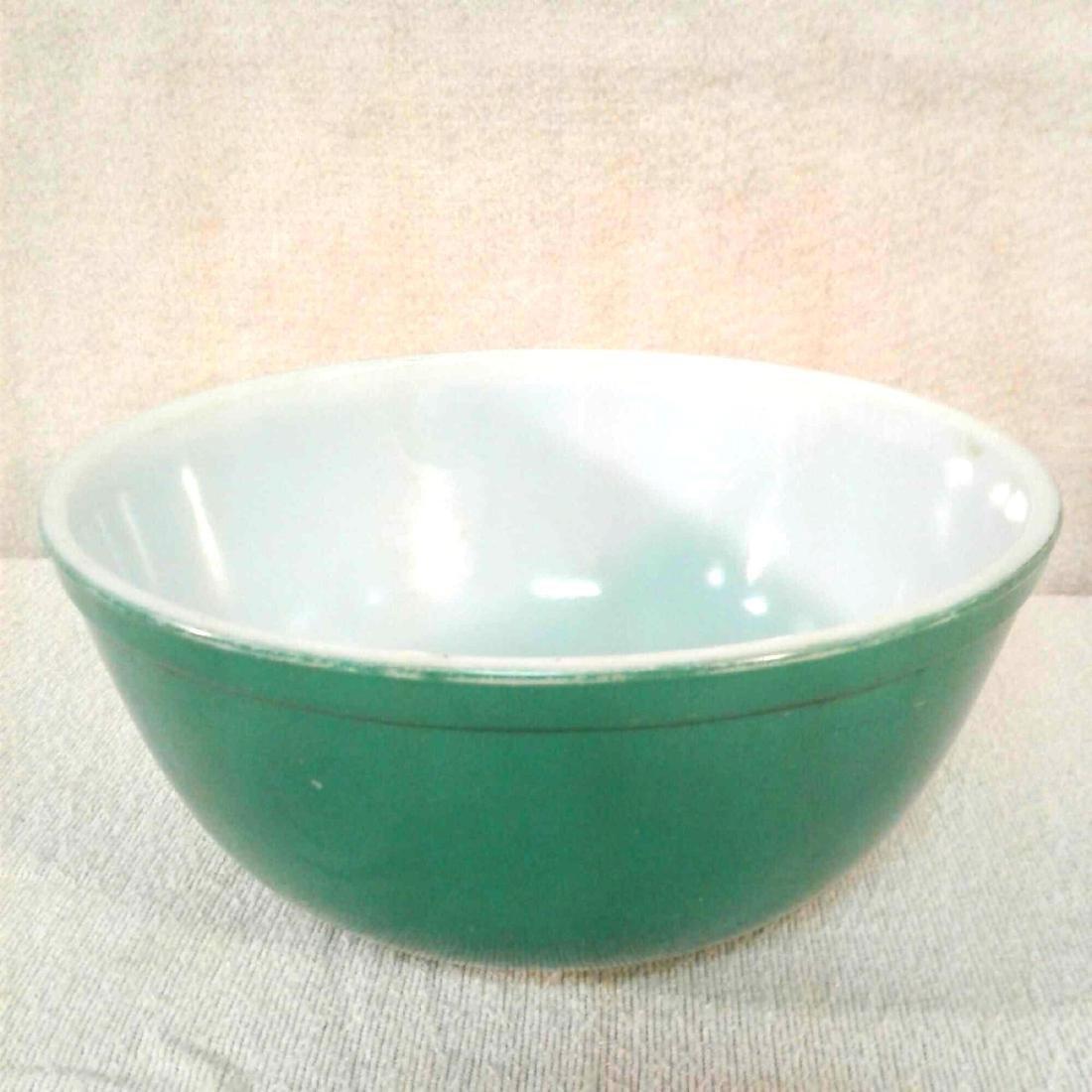 Vintage Green PYREX 403 Mixing Bowl