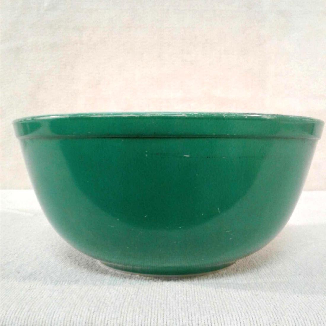 Vintage Green PYREX 403 Mixing Bowl - 2