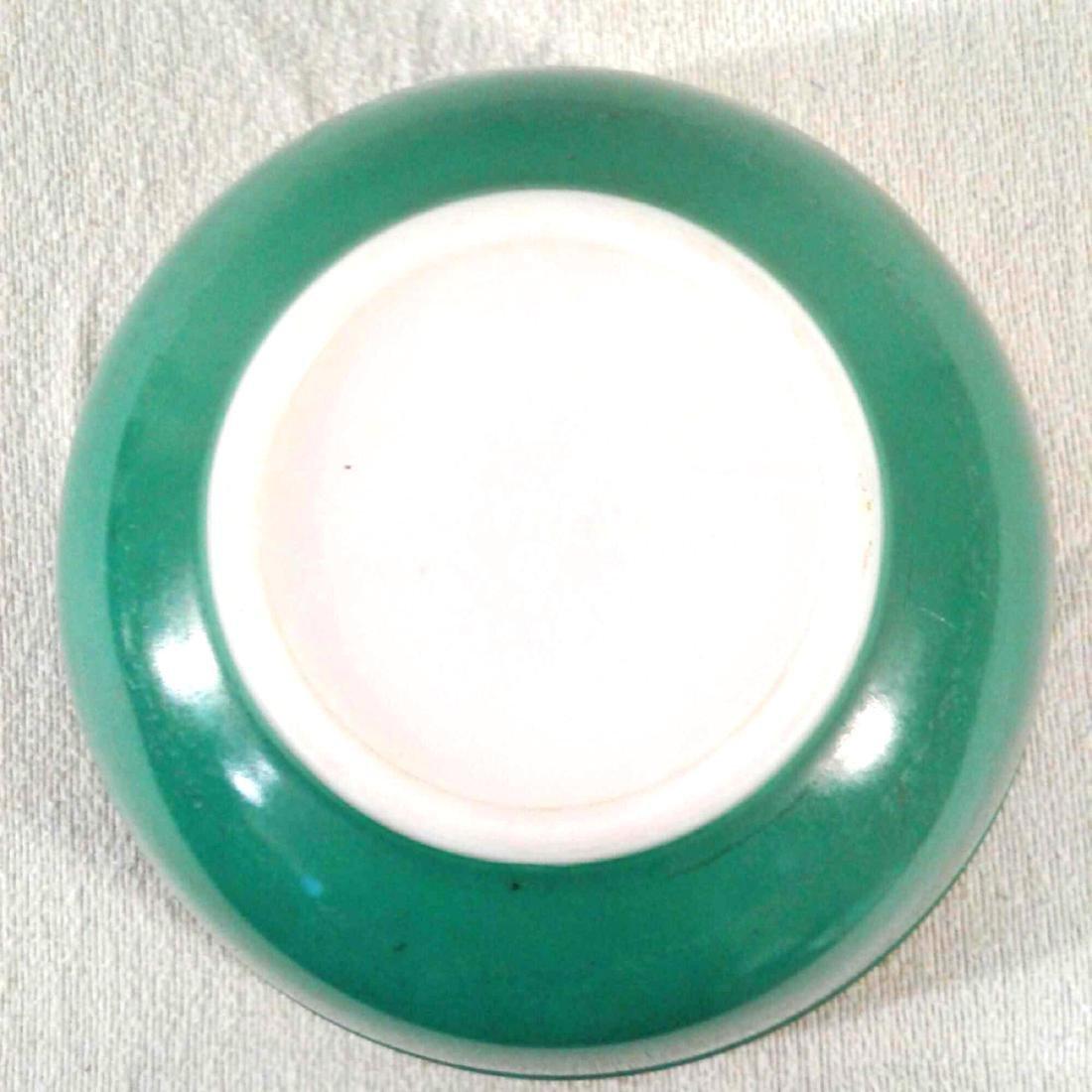 Vintage Green PYREX 403 Mixing Bowl - 4