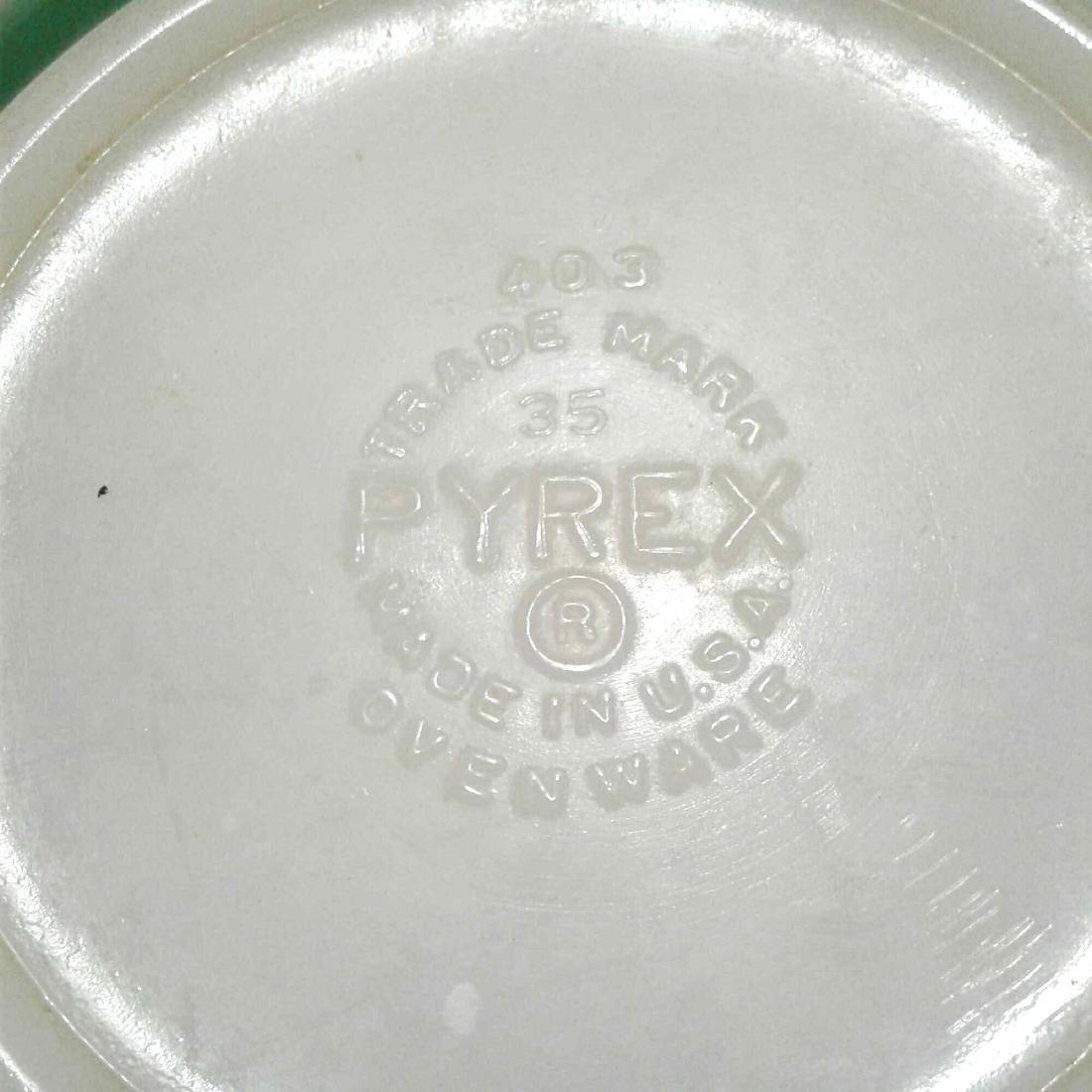 Vintage Green PYREX 403 Mixing Bowl - 6