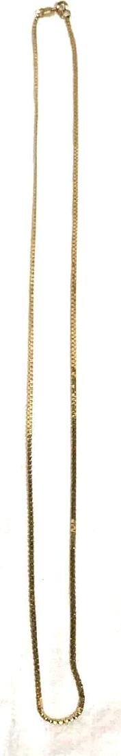 """21"""" 14k Gold Chain Necklace"""