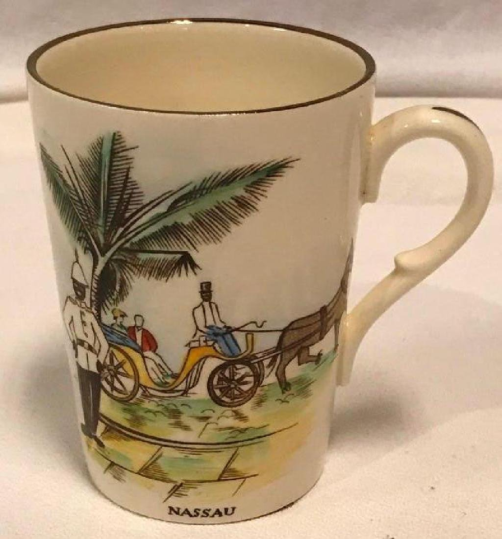 Vintage 1950's Nassau Bahamas Mug