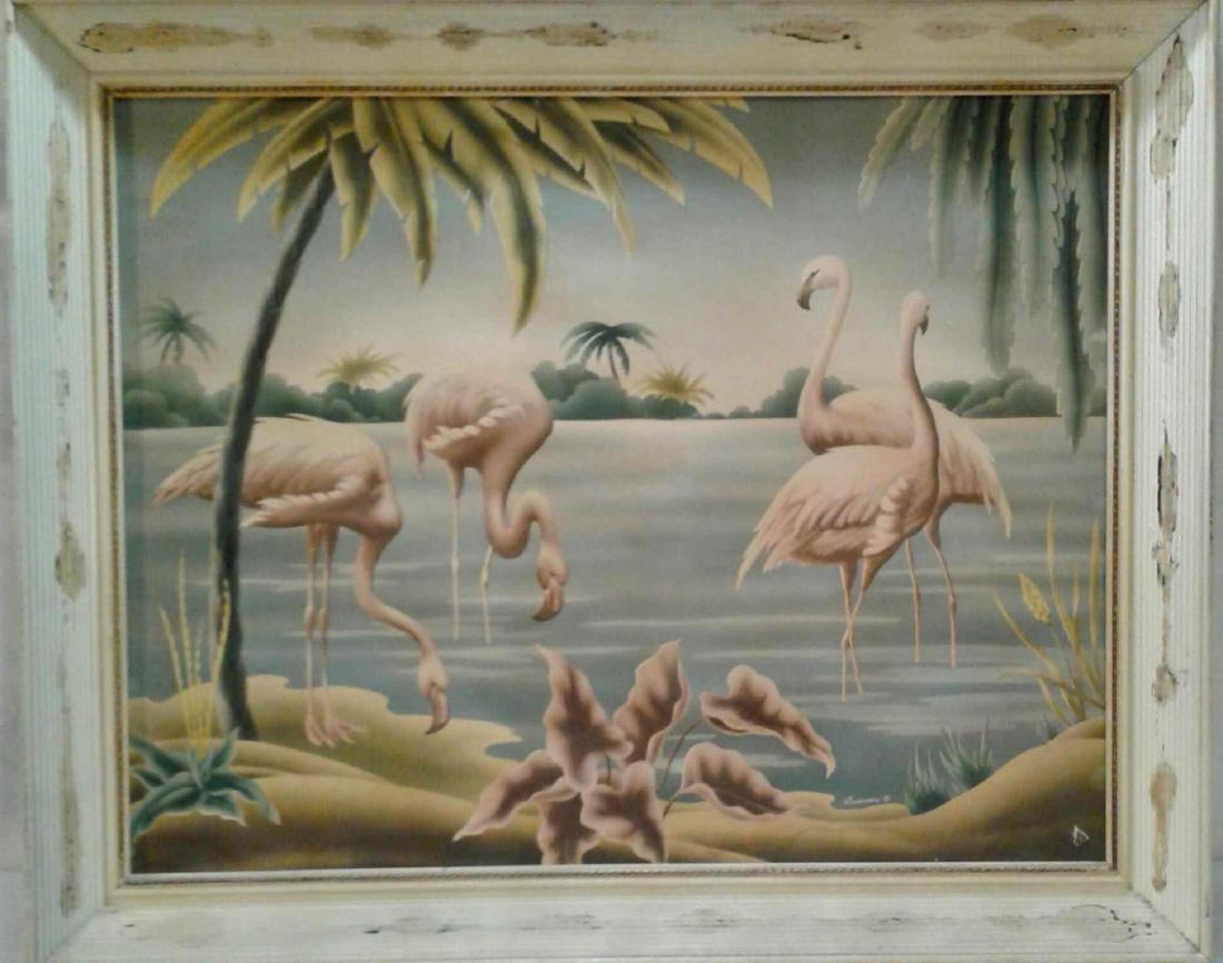 Turner Flamingo Print
