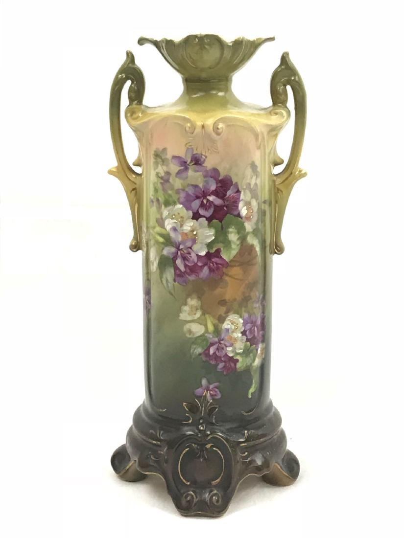 Royal Wettina Austria Vase, 2 handle