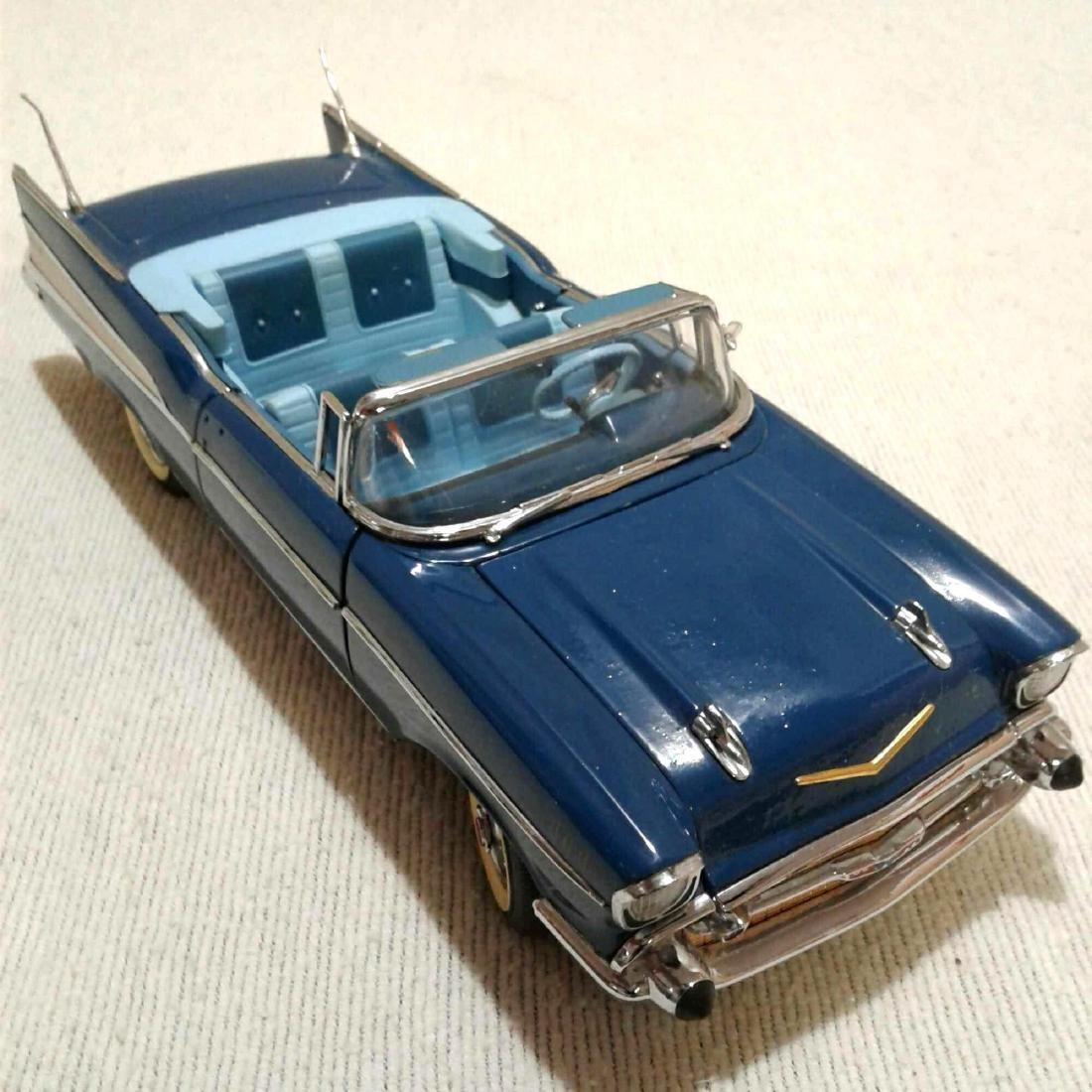 1957 Blue Chevrolet Bel Air by The Danbury Mint Die