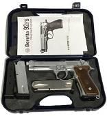 Beretta Stainless 92FS 9mm Handgun