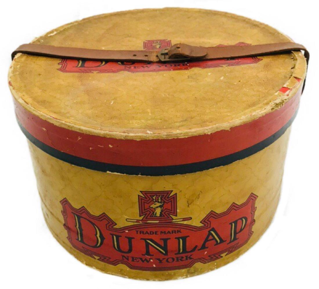Antique Dunlap New York Hat Box