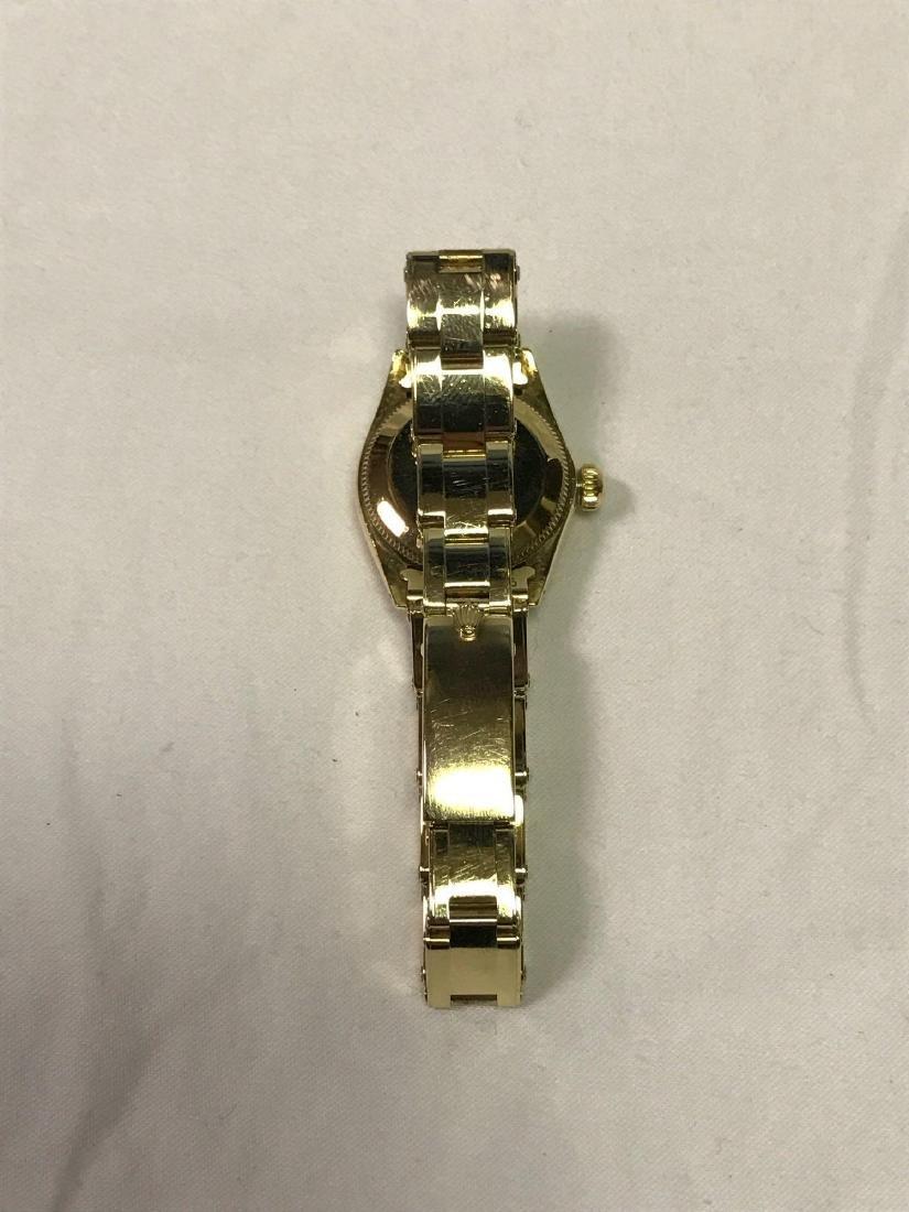 Vintage Ladies Oyster Perpetual 14k Rolex - 12