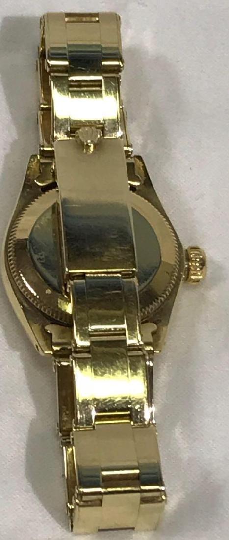 Vintage Ladies Oyster Perpetual 14k Rolex - 5
