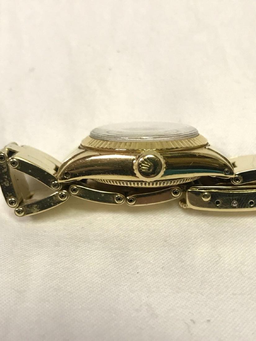 Vintage Ladies Oyster Perpetual 14k Rolex - 6