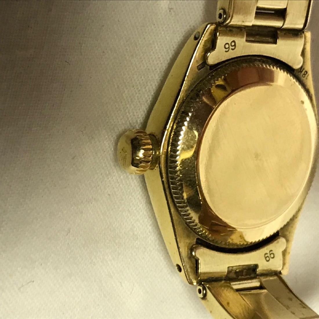 Vintage Ladies Oyster Perpetual 14k Rolex - 8