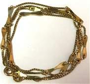 Vintage Estate 14k Gold Necklace Jewelry