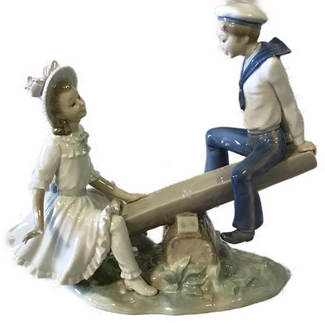 Lladro See-Saw Figurine
