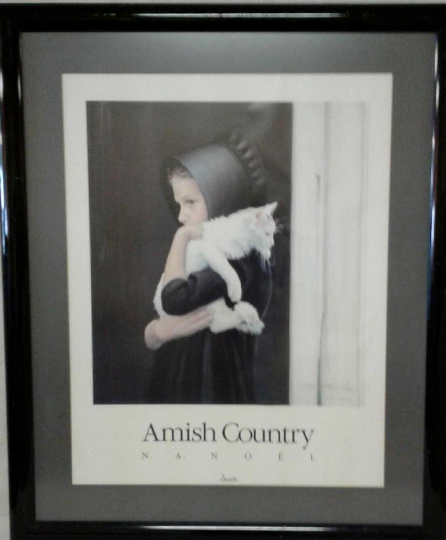 "N.A. Noel ""Sarah"" Amish Country Signed Print"