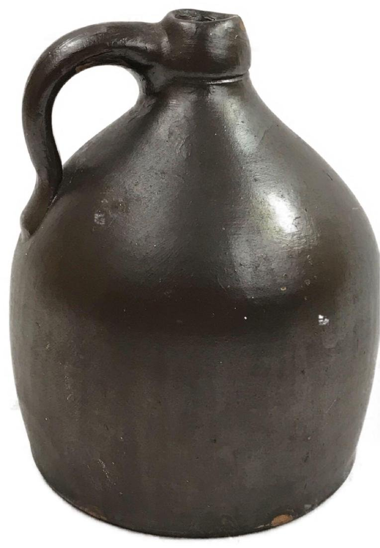 Vintage Round Pottery Jug