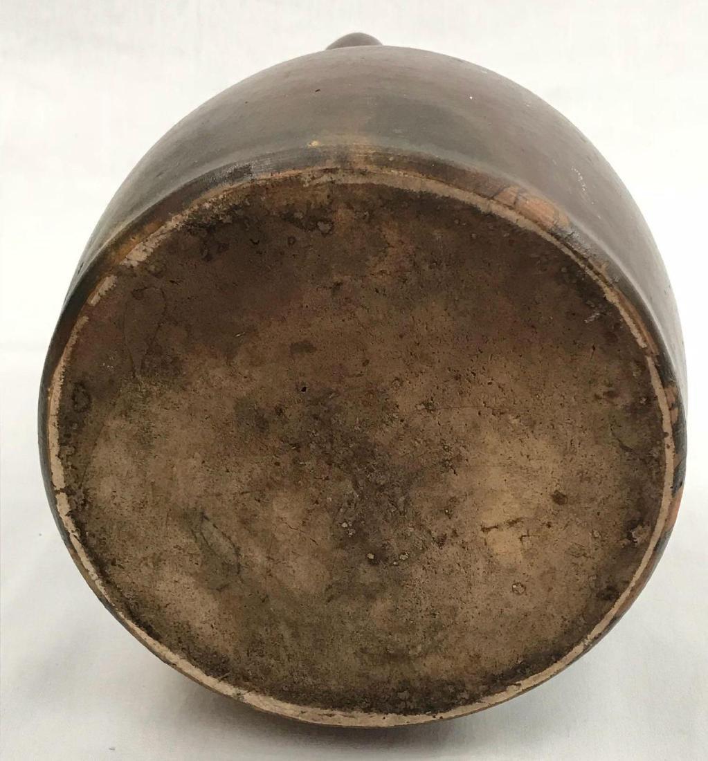Vintage Round Pottery Jug - 6