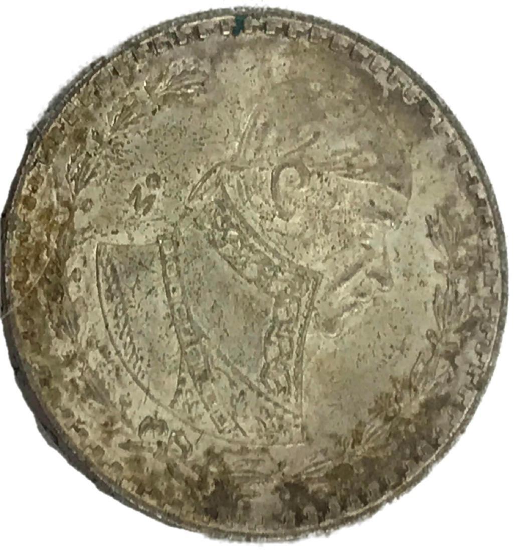 Vintage 1962 Mexico Silver Coin Peso
