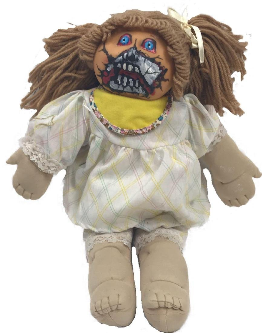 Halloween/Day of the Dead Hand-painted Doll