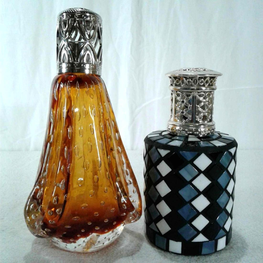 2 Fragrance Oil Lamps