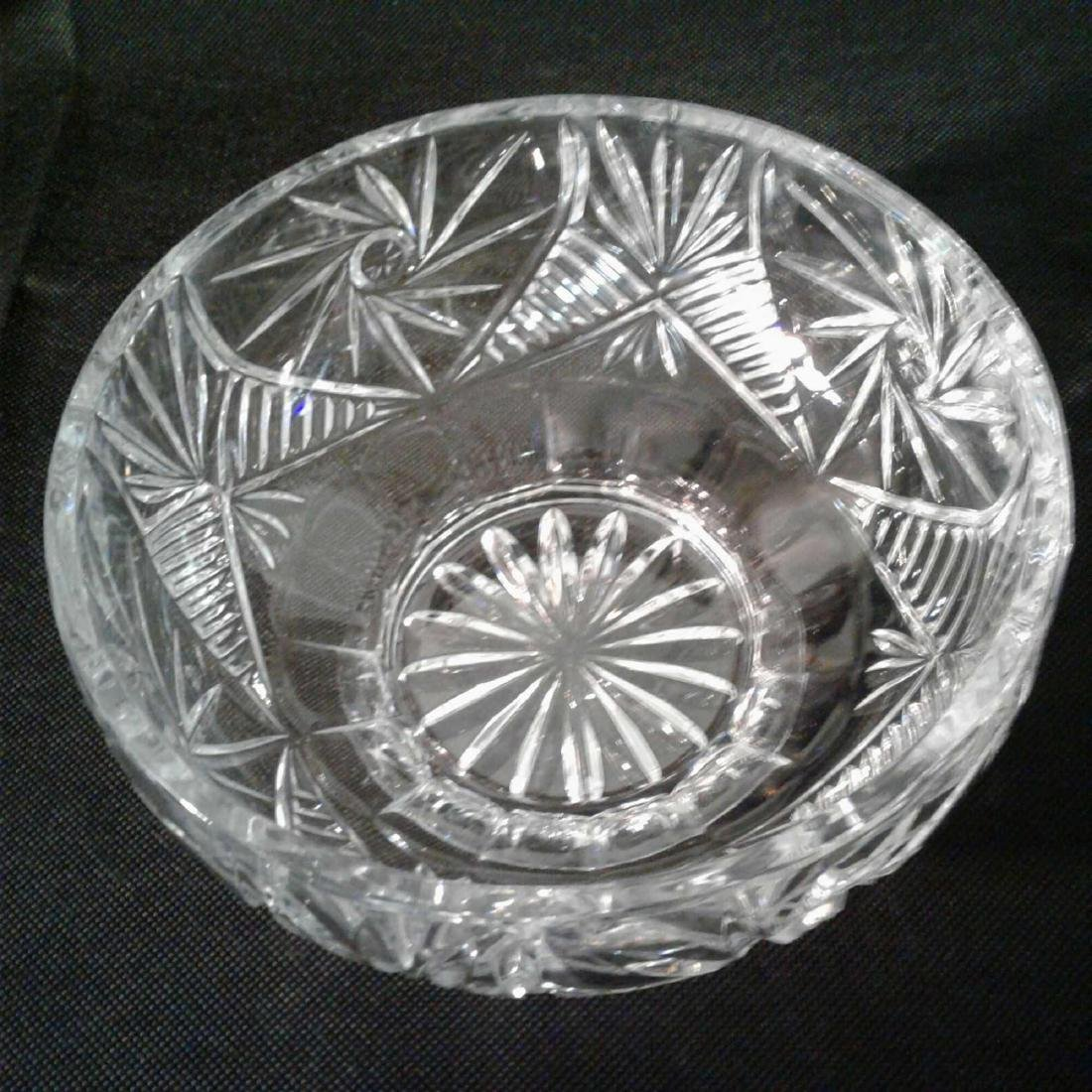 "Crystal Bowl 8""D x 4""H - 2"
