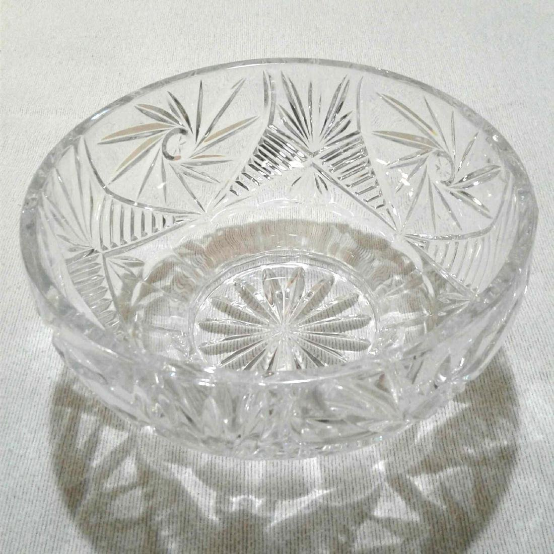 "Crystal Bowl 8""D x 4""H - 4"