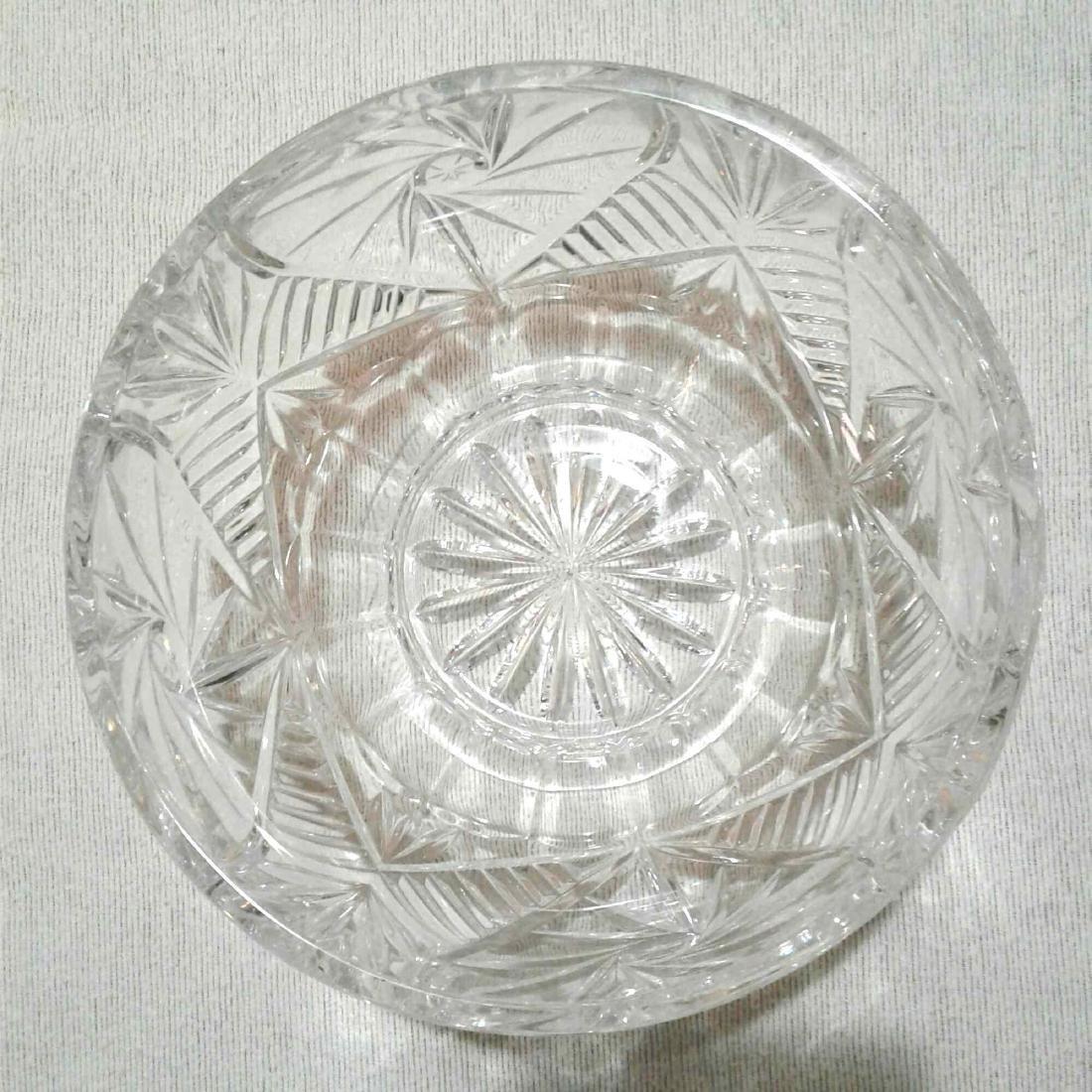 "Crystal Bowl 8""D x 4""H - 6"