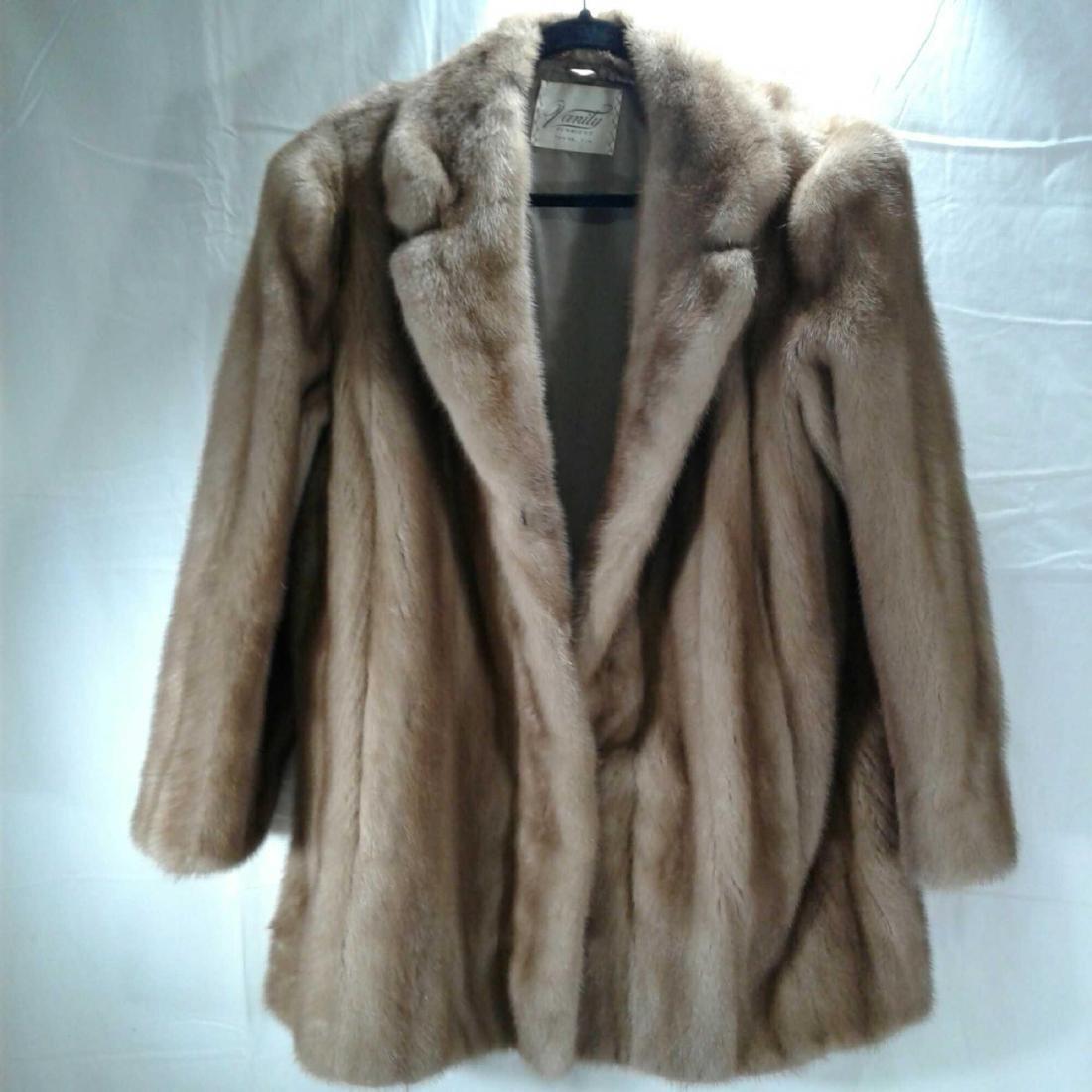 Carmen Salerno Fur Coat