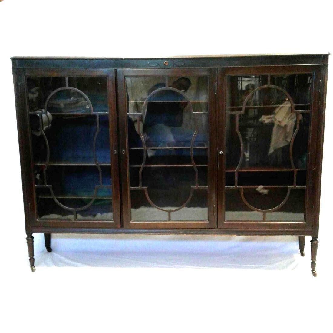 Antique Walnut Display Case