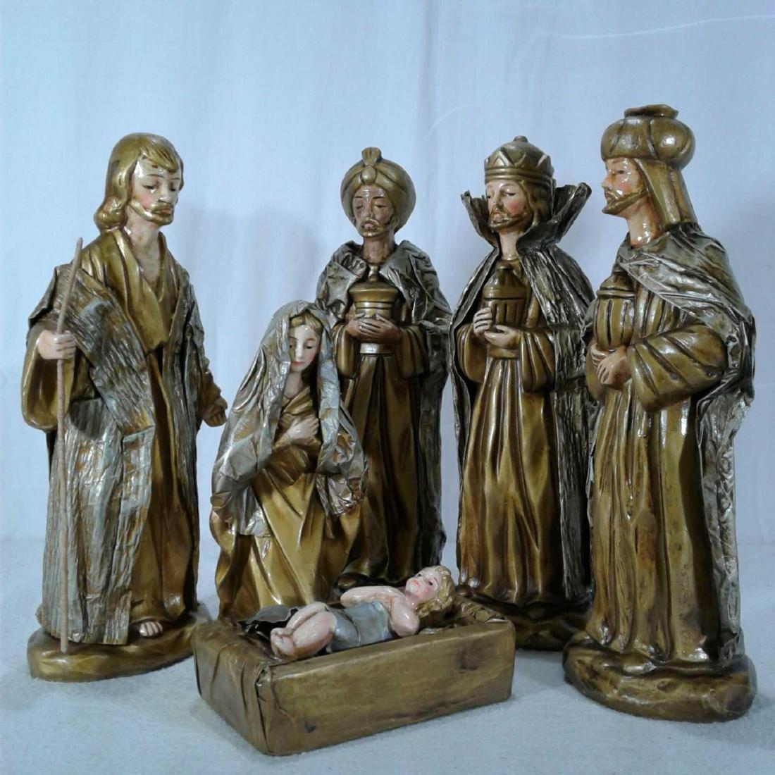 Nativity Scene 6 Piece Set