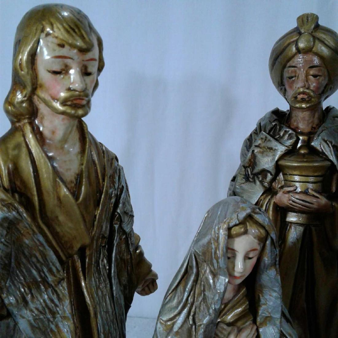 Nativity Scene 6 Piece Set - 2