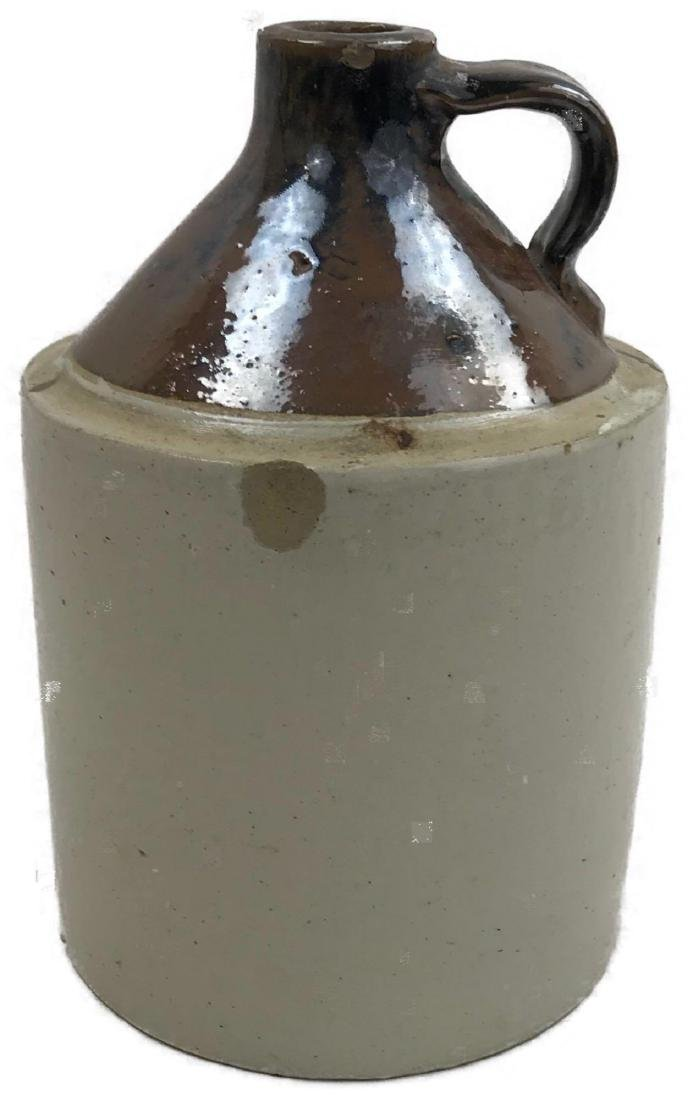 Antique Pottery Crock Moonshine Jug