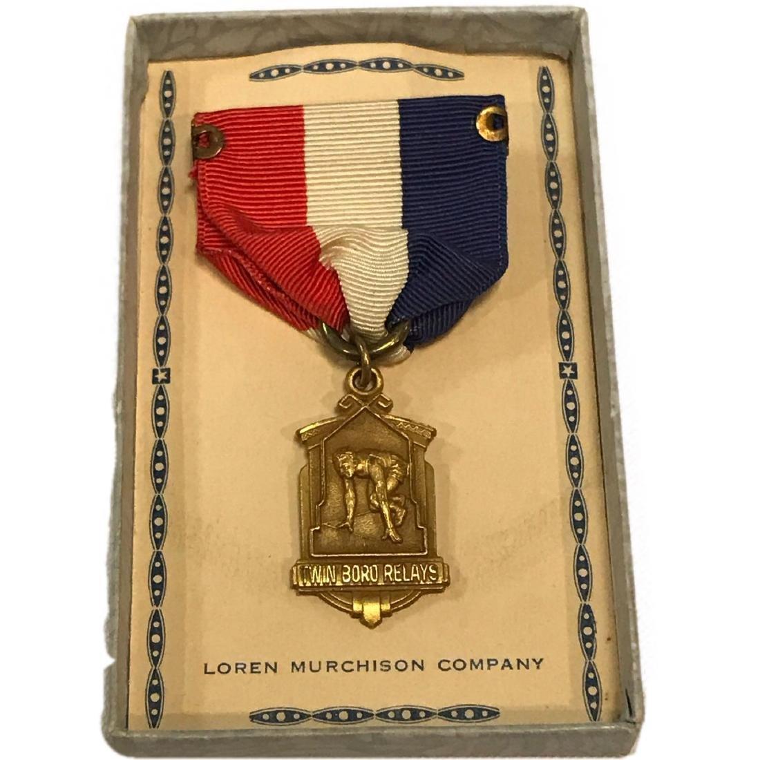 Vintage 1941 1'st Place Medal New Jersey