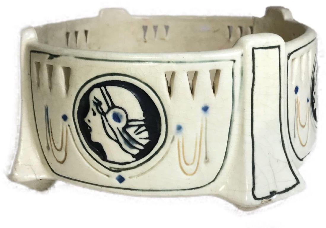 Art Deco Ethel Creamware Weller Pottery