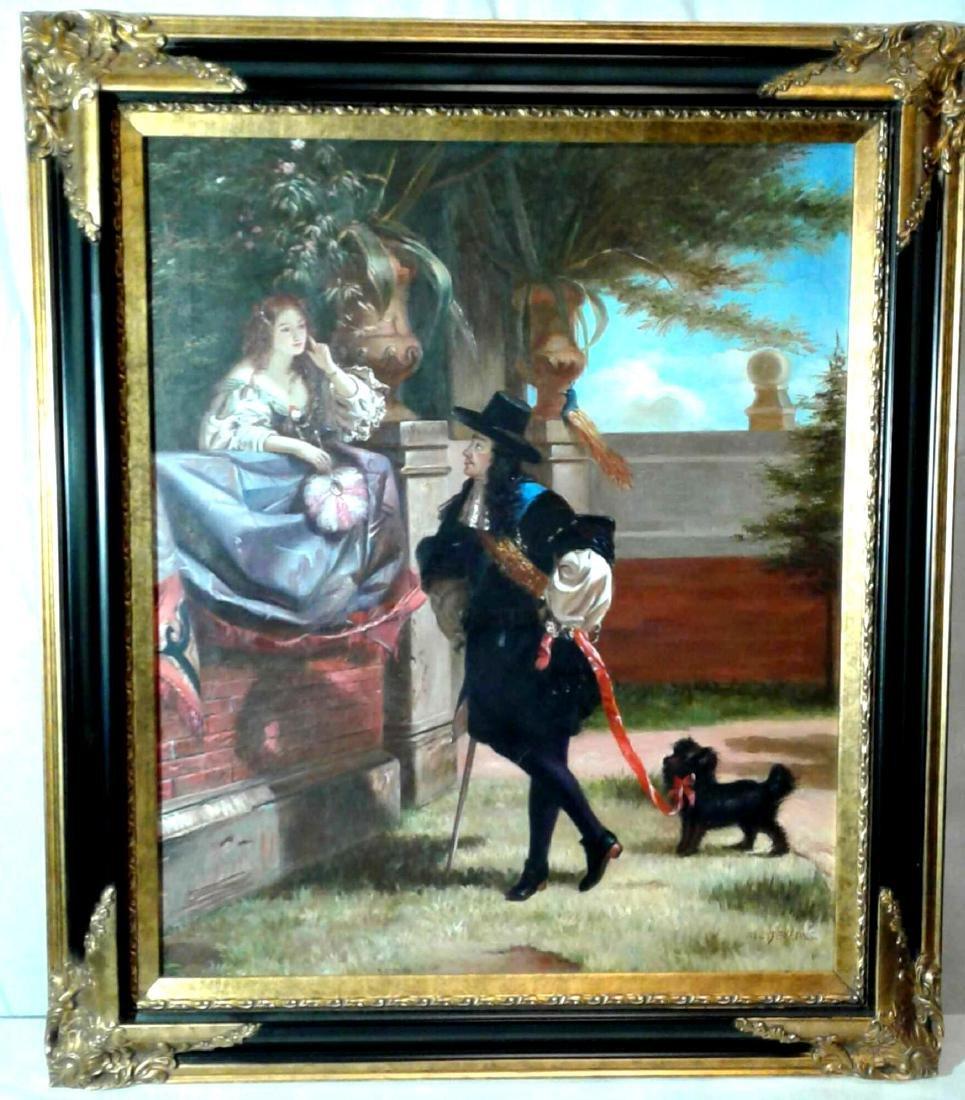Vintage Signed Original Oil Painting