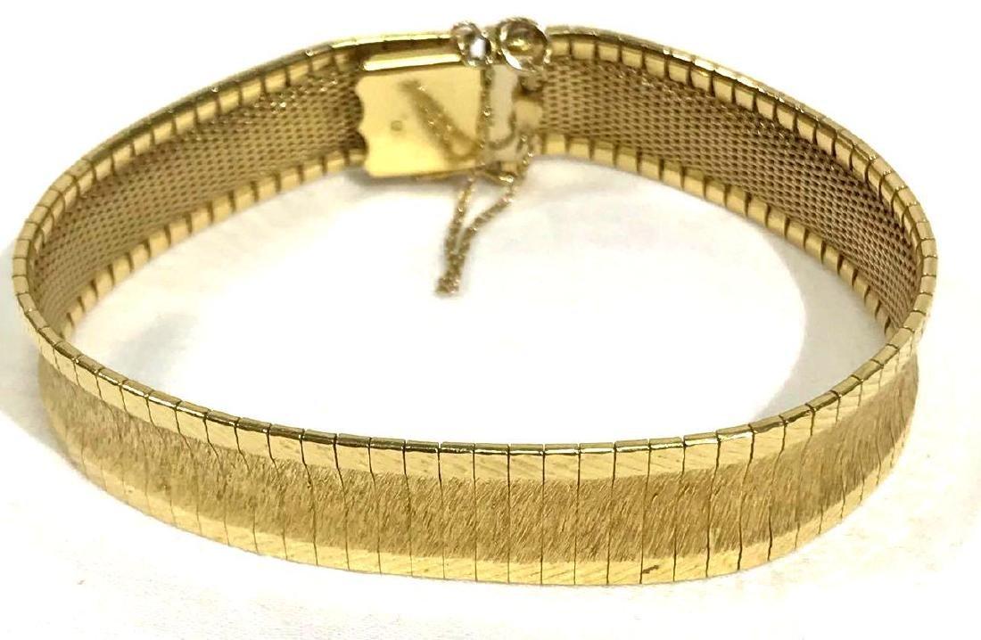 Vintage Elegant 18K Gold Bracelet, Jewelry