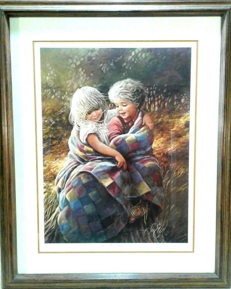 "Sue Etem, "" A little Chilly"" Signed Numbered Print"
