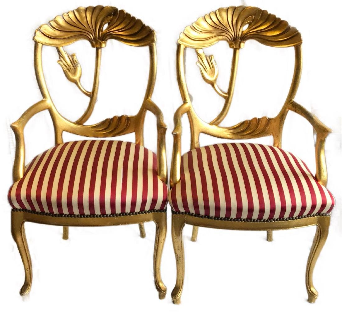1 Pair of Victorian Antique Chairs
