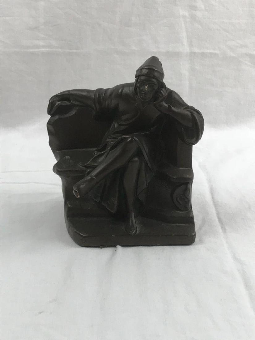 Vintage Signed Bronze Statue - 5