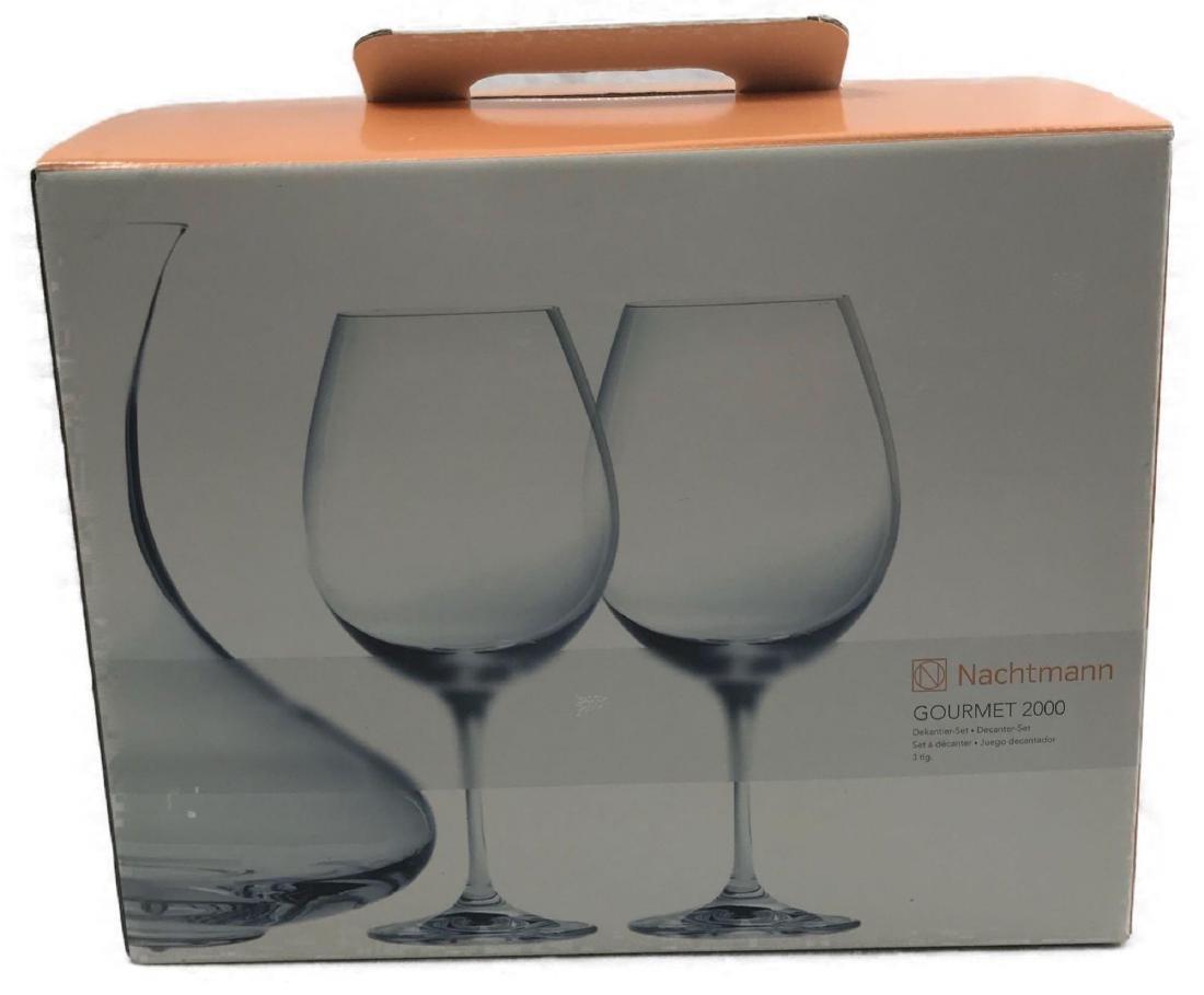 Nachtman Gourmet 2000 Wine Decanter Set