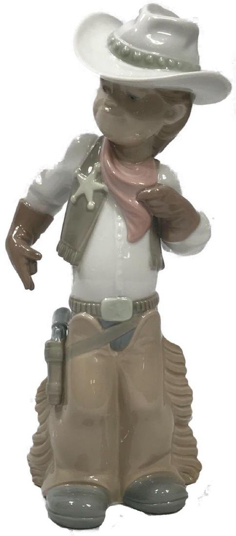 Lladro Cowboy Sheriff