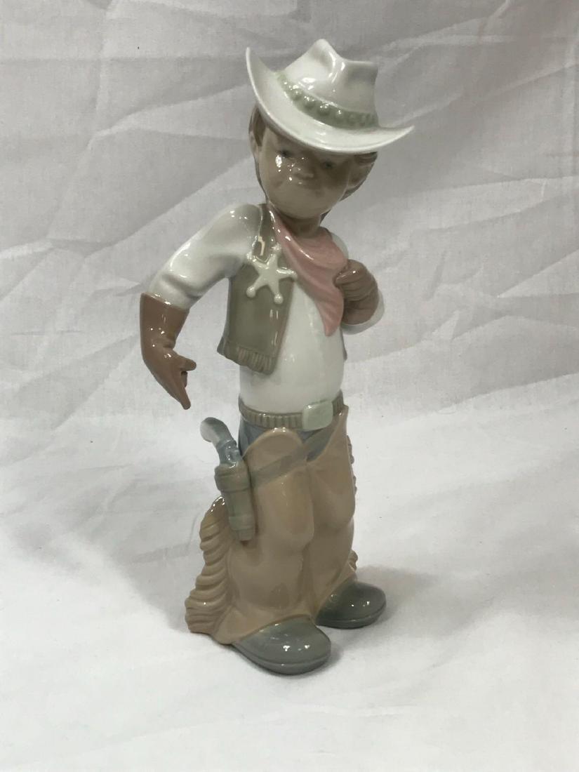 Lladro Cowboy Sheriff - 2