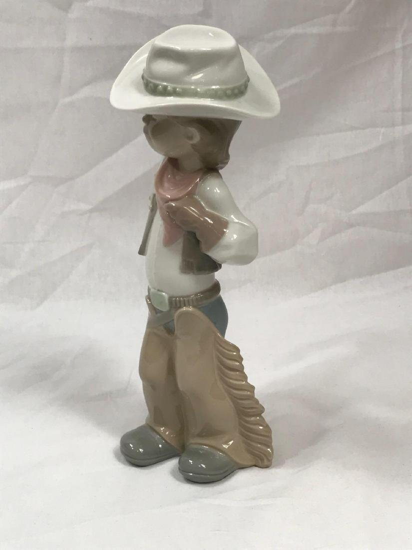 Lladro Cowboy Sheriff - 5