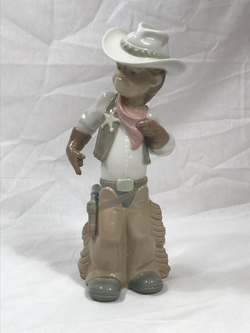 Lladro Cowboy Sheriff - 9