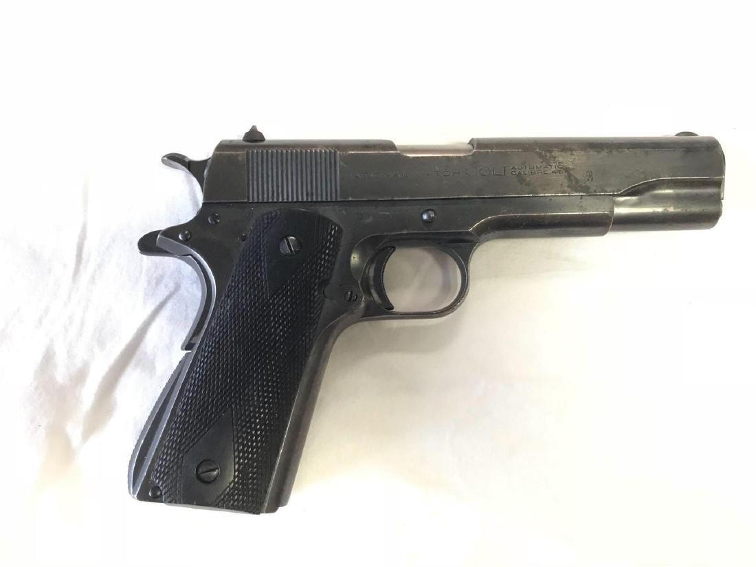1939 Colt 1911 National Match .45 Pistol