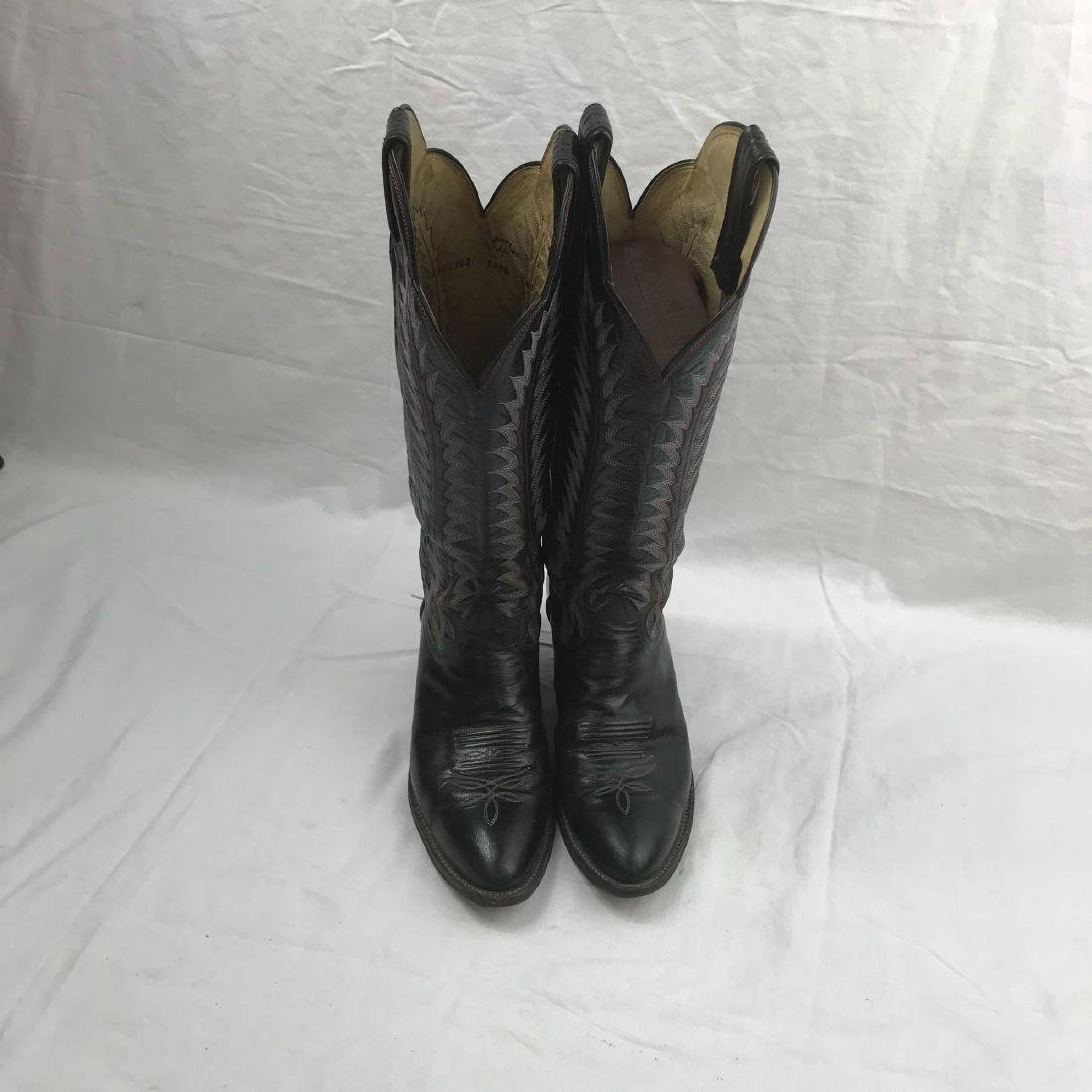 Tony Lama size 8 Cowgirl Boots - 3