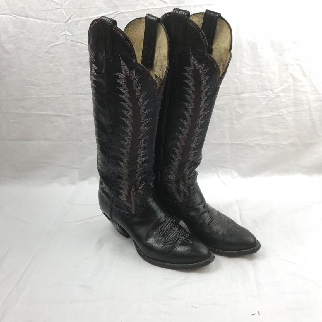 Tony Lama size 8 Cowgirl Boots - 4