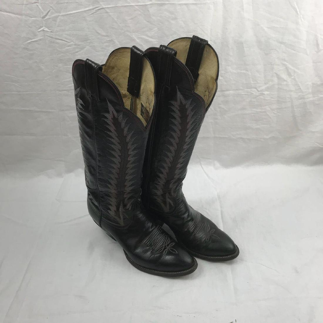 Tony Lama size 8 Cowgirl Boots - 5