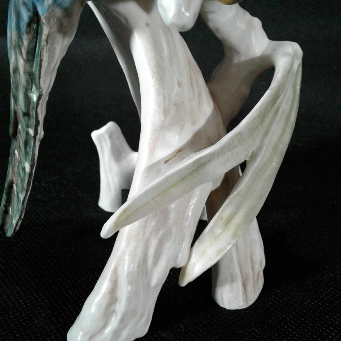 Vintage W. Goebel Sculpture of a Kingfisher, by Gerard - 4
